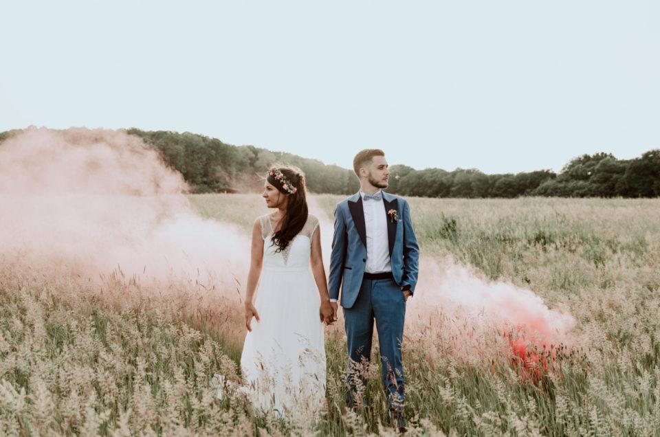 Notre mariage bohème aux Bonnes Joies